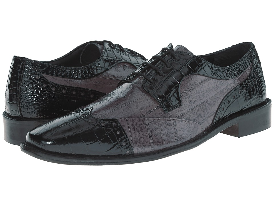 Stacy Adams - Galletti (Black/Gray) Men