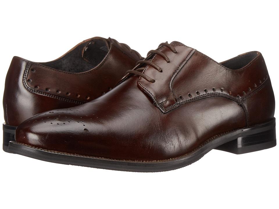 Stacy Adams Kendrick Brown Mens Plain Toe Shoes