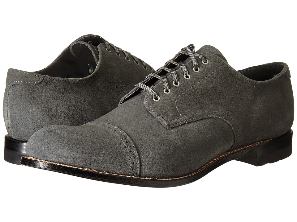 Stacy Adams Madison (Gray Suede) Men
