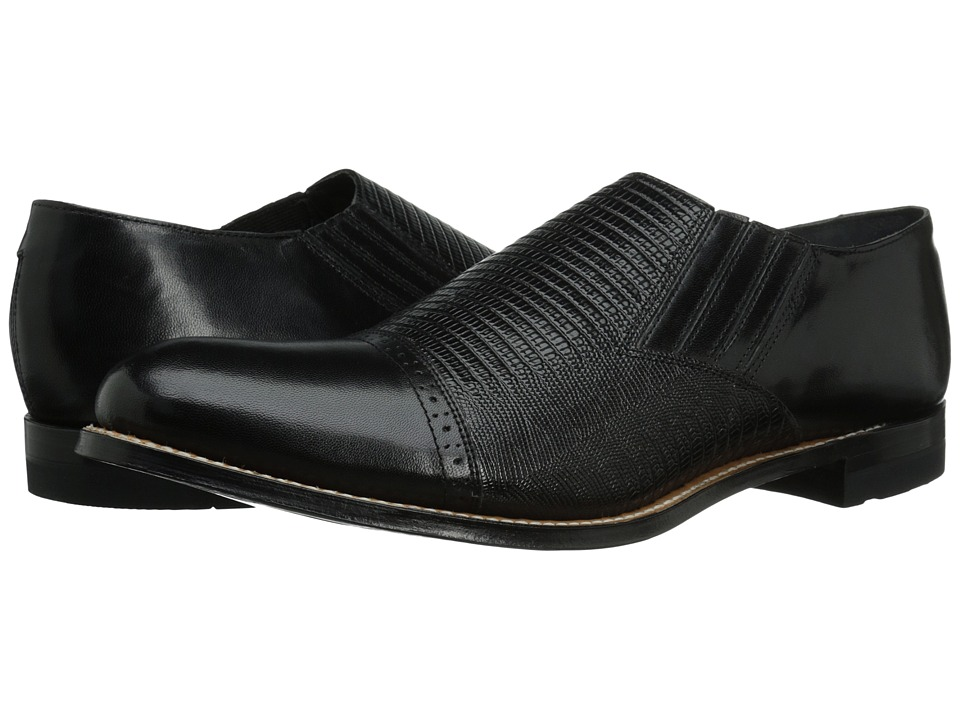 Stacy Adams Madison (Black) Men's Shoes