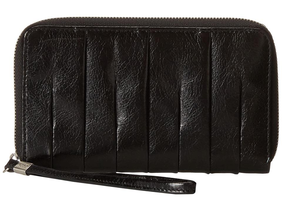 Hobo Amoret Black Vintage Leather Wallet