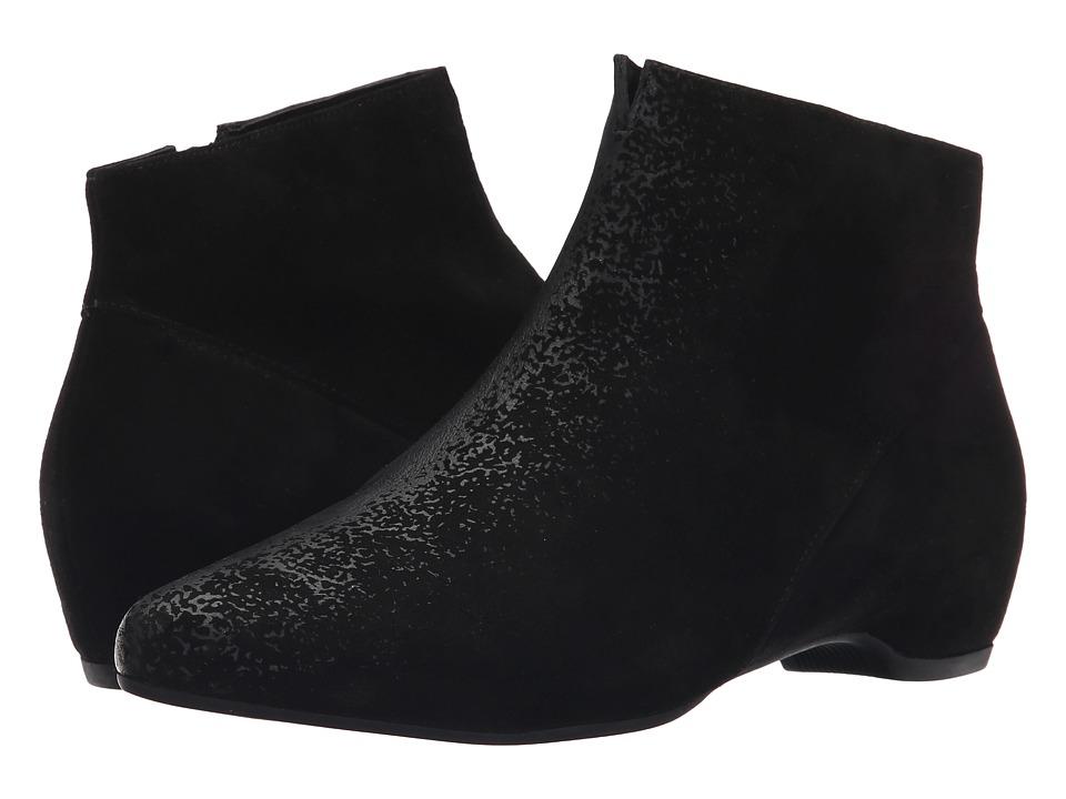 Think 85244 Black/Kombi Womens Zip Boots