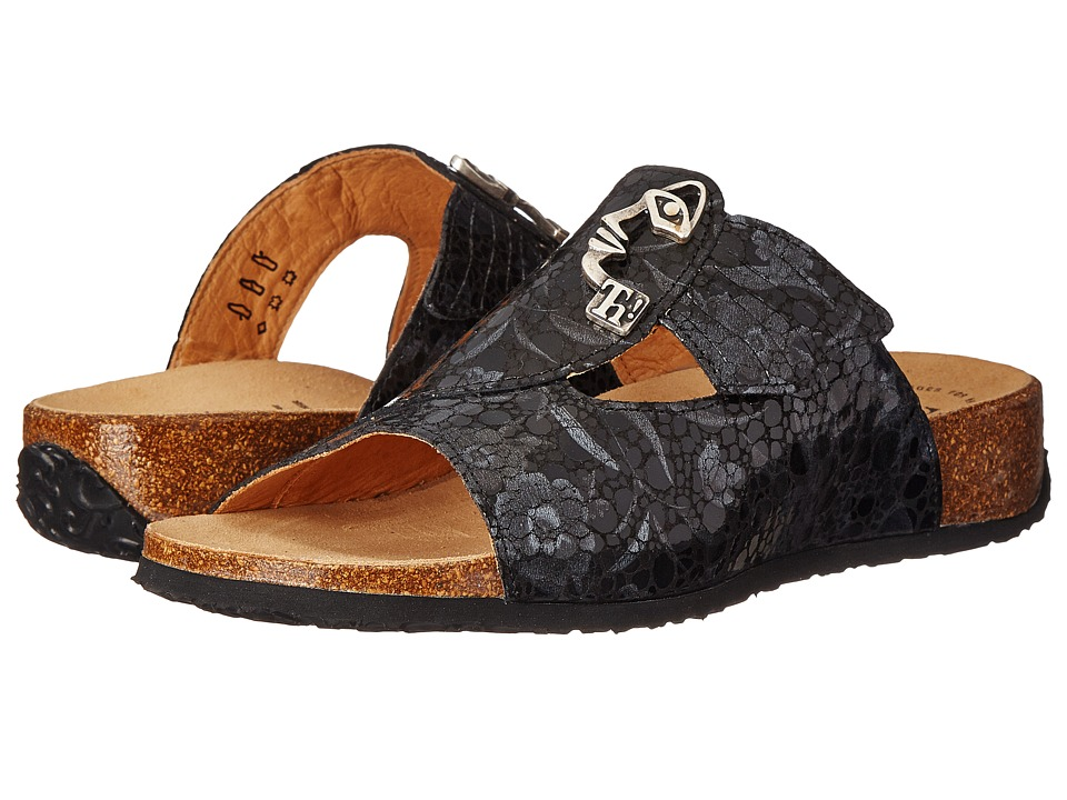 Think 85352 Black/Kombi Womens Sandals