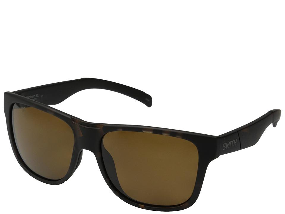 Smith Optics Lowdown XL Matte Tortoise/Polar Brown Carbonic TLT Lenses Fashion Sunglasses