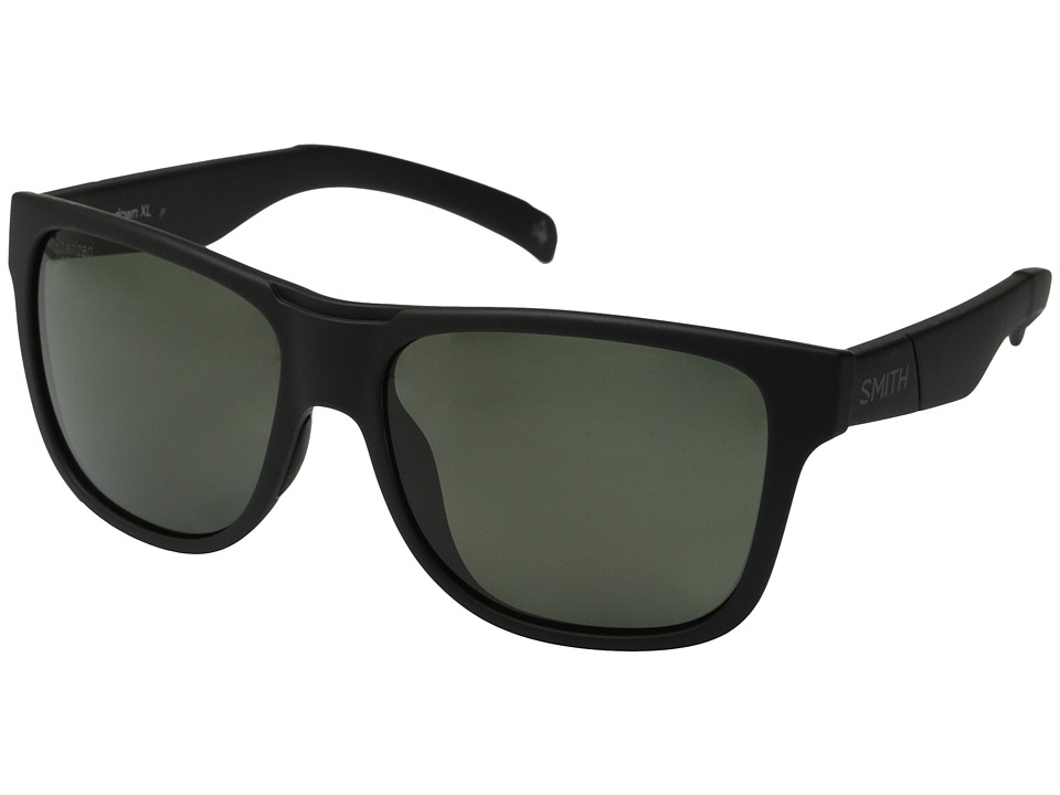 Smith Optics Lowdown XL Matte Black/Polar Gray Green Carbonic TLT Lenses Fashion Sunglasses