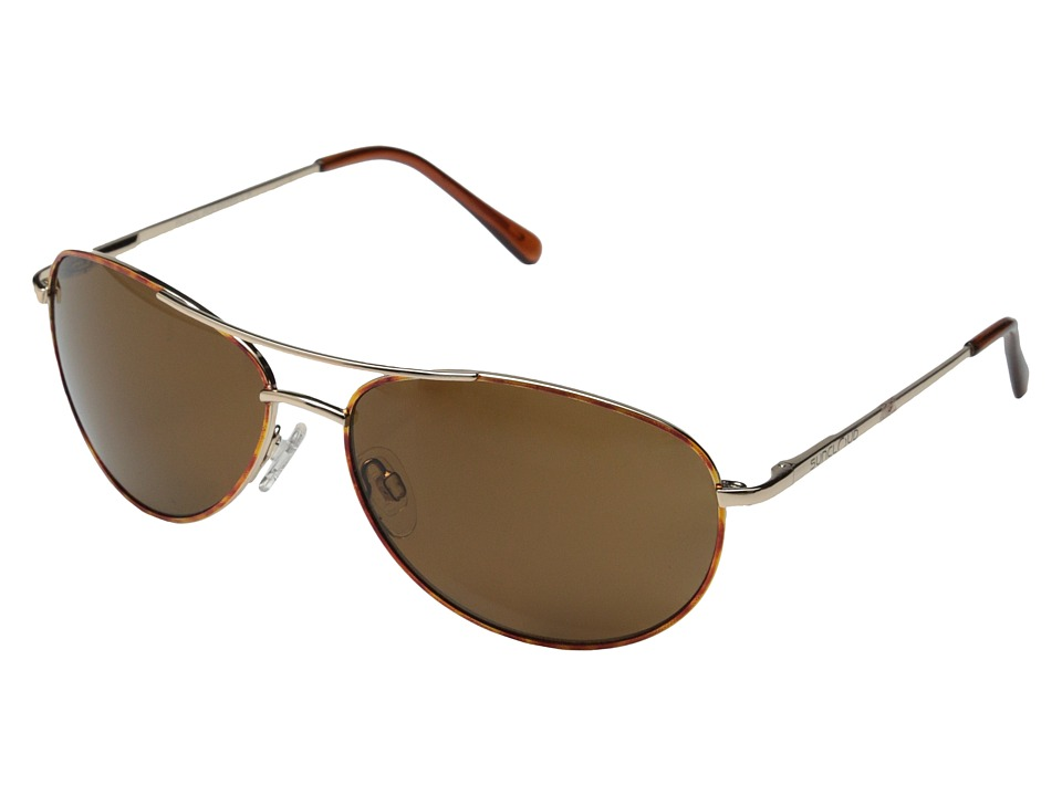 SunCloud Polarized Optics Patrol Tortoise Frame/Brown Polarized Polycarbonate Lenses Sport Sunglasses