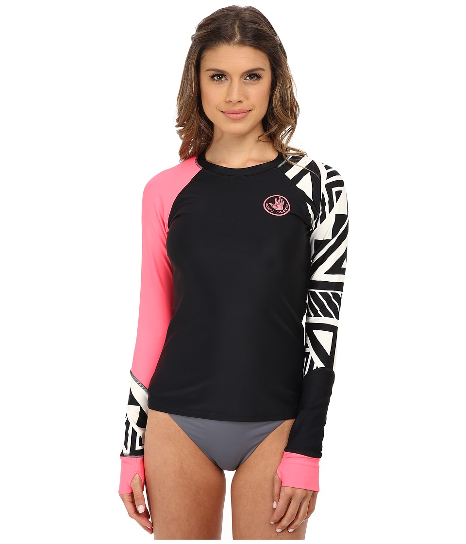 Body Glove - Kalani Sleek Rashguard (Black) Women's Swimwear