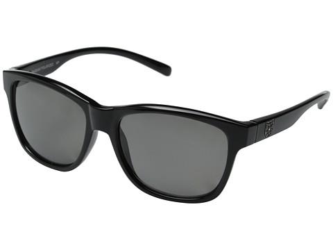 SunCloud Polarized Optics Pageant - Black Frame/Gray Polarized Polycarbonate Lenses