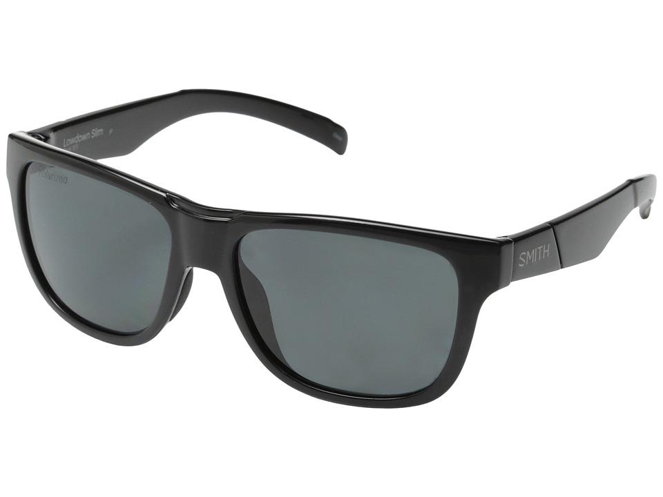 Smith Optics Lowdown Slim Black/Polar Gray Carbonic TLT Lenses Fashion Sunglasses