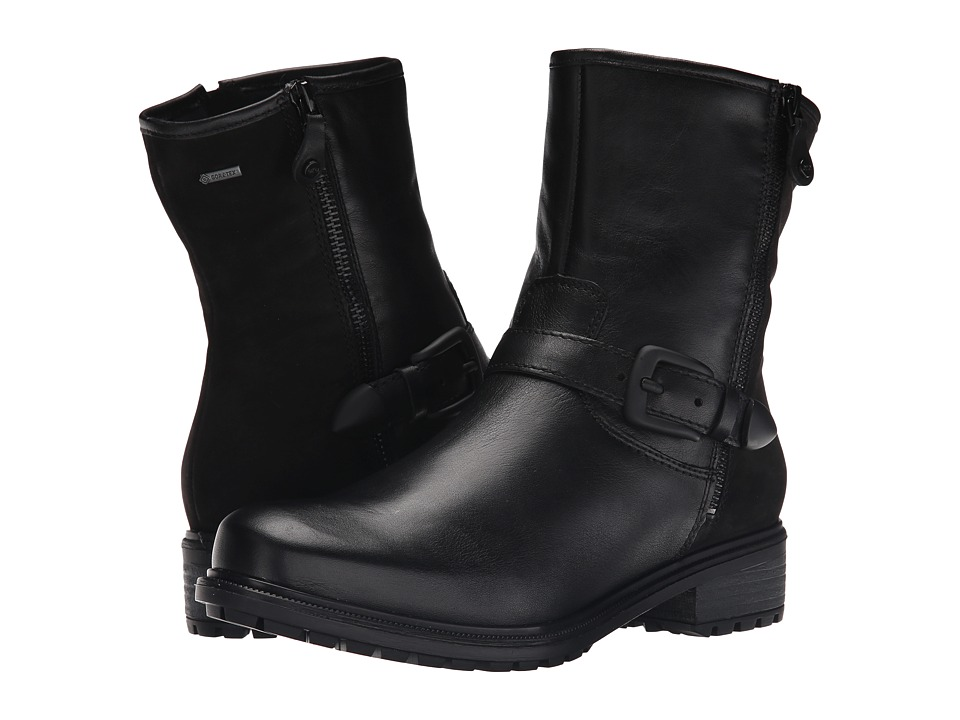 ara Kasper (Black Leather/Nubuck Combo) Women