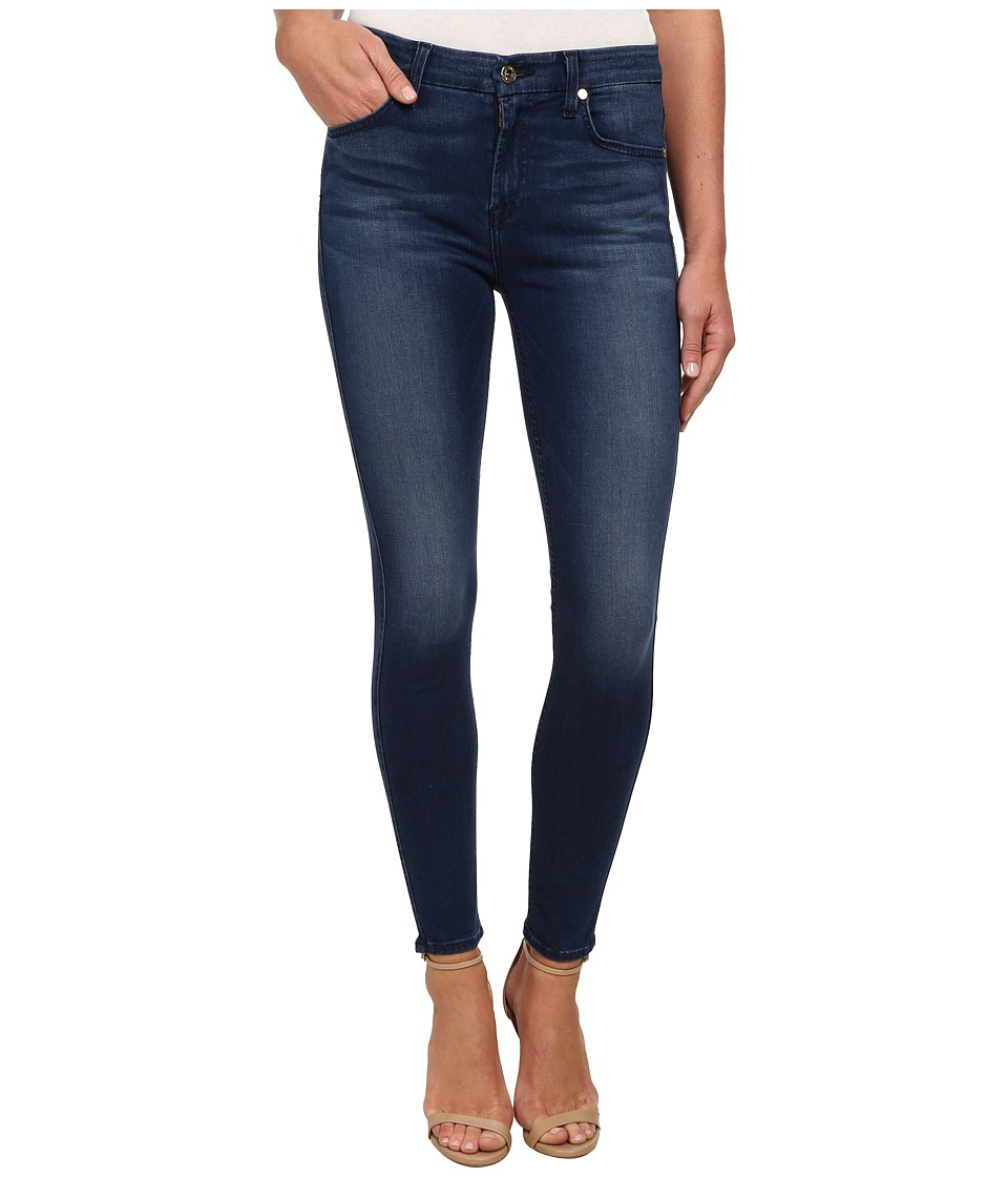 7 For All Mankind Midrise Ankle Skinny w/ Contour Waistband in Slim Illusion Luxe Medium Heritage (Slim Illusion Luxe Medium Heritage) Women