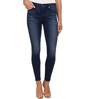 7 For All Mankind - Midrise Ankle Skinny w/ Contour Waistband in Slim Illusion Luxe Medium Heritage