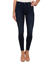 7 For All Mankind - The High Waist Ankle Skinny in Slim Illusion Luxe Dark Legacy