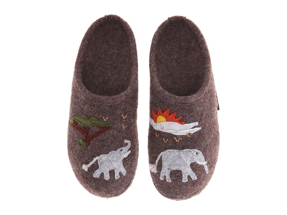 Giesswein Marula Taupe Womens Slippers