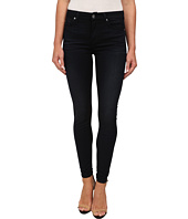 7 For All Mankind - The Mid Rise Ankle Skinny in Featherweight Clean Dark Blue