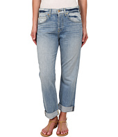 7 For All Mankind - The Cropped 1984 Boyfriend in Aura Blue Heritage