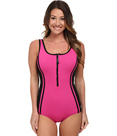Speedo - Front Zip One-Piece