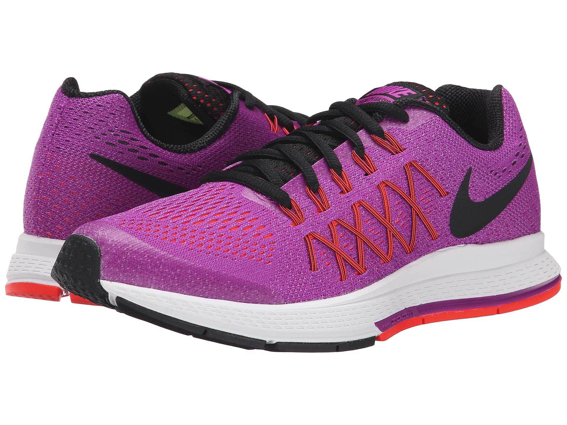 mens nike zoom pegasus 32 pink black