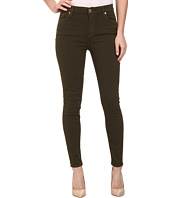 7 For All Mankind - The High Waist Ankle Skinny w/ Contour Waistband in Cadet Green