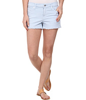 7 For All Mankind - Cut Off Shorts in Light Blue