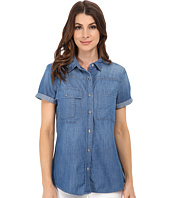 7 For All Mankind - Short Sleeve Multiple Pocket Denim Shirt