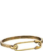 Giles & Brother - Safety Pin I.D. Hinge Cuff Bracelet