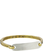 Giles & Brother - I.D. Tag with Hinge Cuff Bracelet
