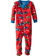 Hatley Kids - Farm Tractors Footed Coverall (Infant)