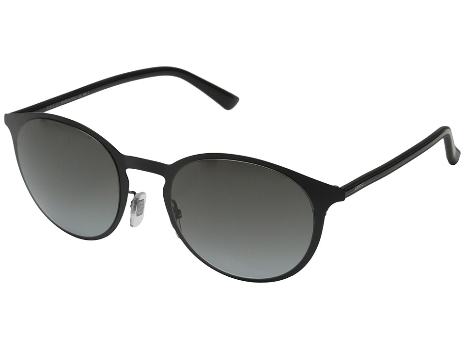 Gucci GG 2263/S Matte Shiny Black/Gray Gradient Fashion Sunglasses