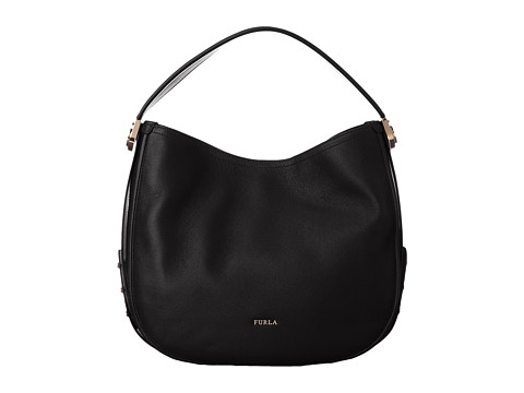 Furla Luna Medium Hobo - Onyx