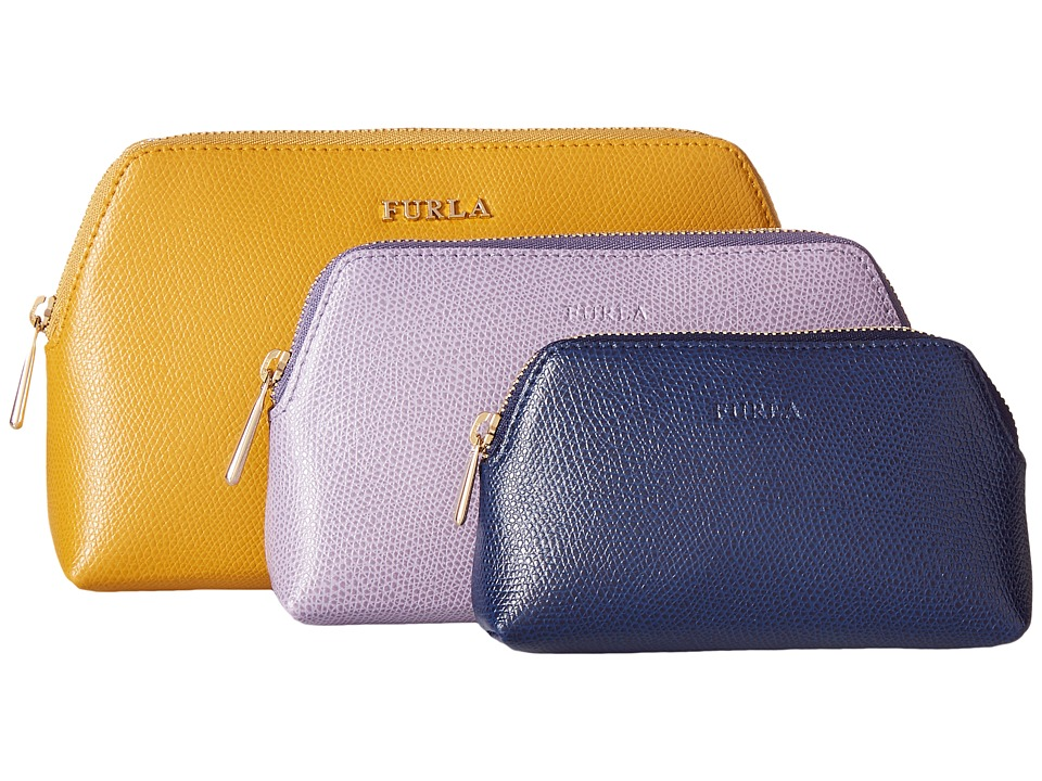 Furla Isabelle Cosmetic Case Set Girasole/Storm/Navy Cosmetic Case