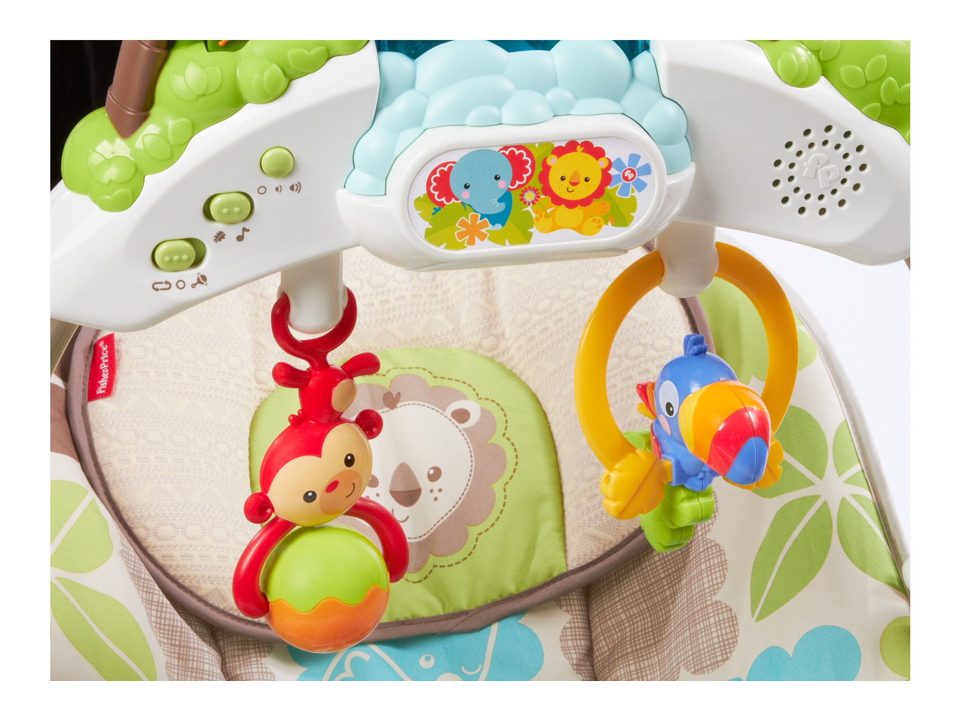 fisher price rainforest friends bouncer instructions