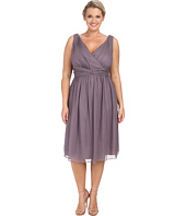 Donna Morgan - Plus Size Jessie Short Bra Friendly Chiffon Dress