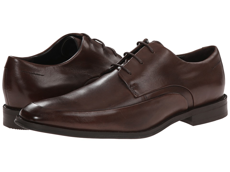 Kenneth Cole New York A Shore Brown Mens Plain Toe Shoes