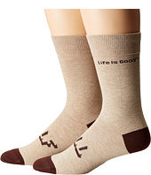 Life is good - LIG Crew Socks