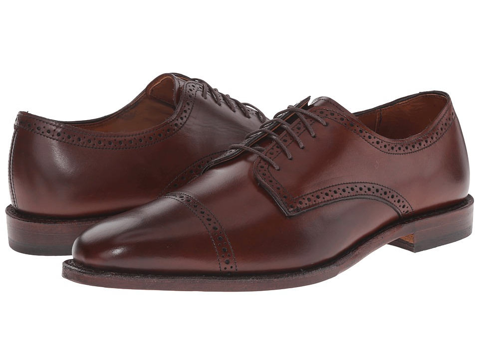 Allen-Edmonds Yorktown (Dark Chili Burnished Calf) Men