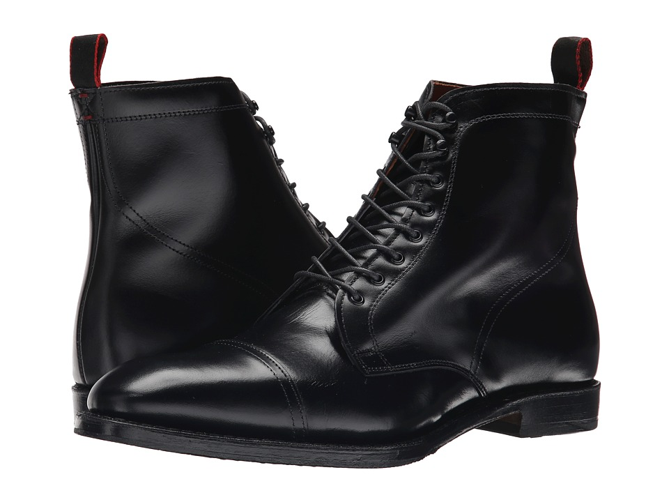 Mens Vintage Style Shoes| Retro Classic Shoes Allen-Edmonds - First Avenue Black Mens Dress Boots $378.25 AT vintagedancer.com