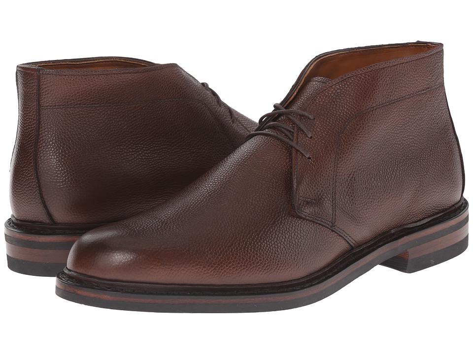 Allen Edmonds Dundee 2.0 Brown Country Grain Calf Mens Dress Boots