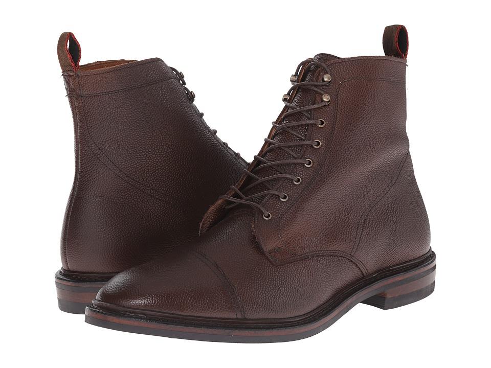 Allen Edmonds First Avenue Brown Country Grain Calf Mens Dress Boots