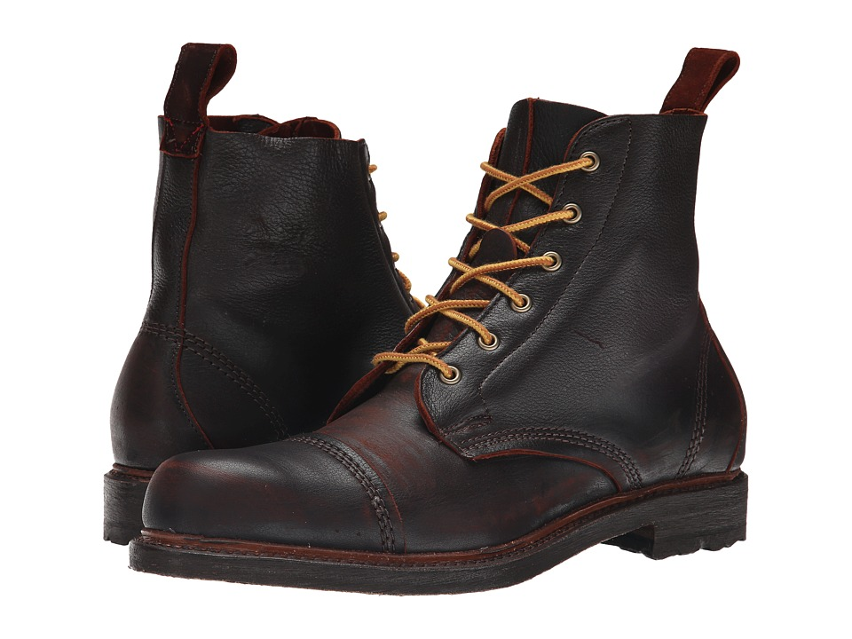 Allen Edmonds Normandy Brown Mens Dress Boots