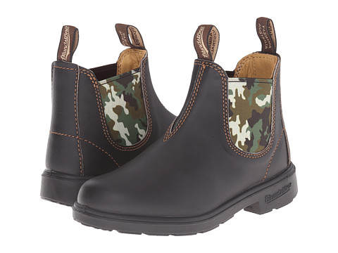Blundstone Kids 537 (Toddler/Little Kid/Big Kid) - Brown/Camo