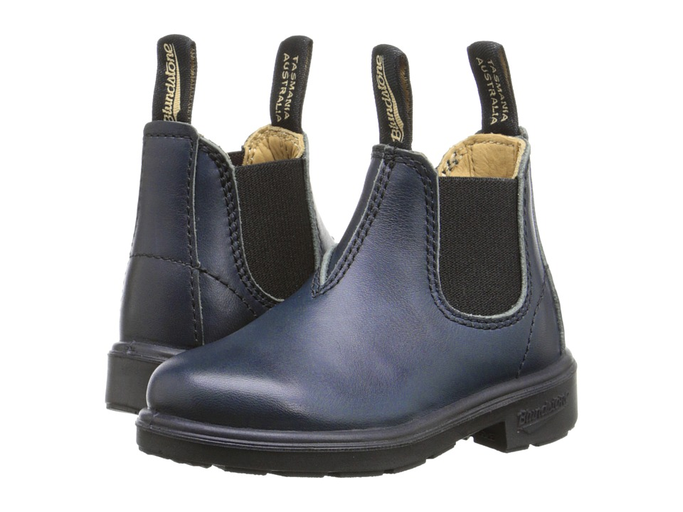 Blundstone Kids 1418 (Toddler/Little Kid/Big Kid) (Navy) Kids Shoes