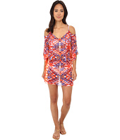BECCA by Rebecca Virtue - Tulum Smocked Tunic Cover-Up
