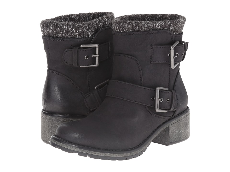 Roxy - Scout (Black) Womens Pull-on Boots