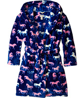 Hatley Kids - Silhouette Horses Fuzzy Fleece Robe (Toddler/Little Kids/Big Kids)