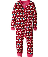 Hatley Kids - Lots Of Hearts Sleepy Romper (Infant)