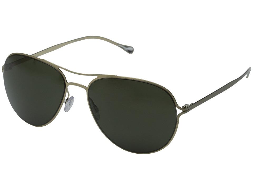 Paul Smith Surrey Brushed Gold/G15 Polarized Fashion Sunglasses
