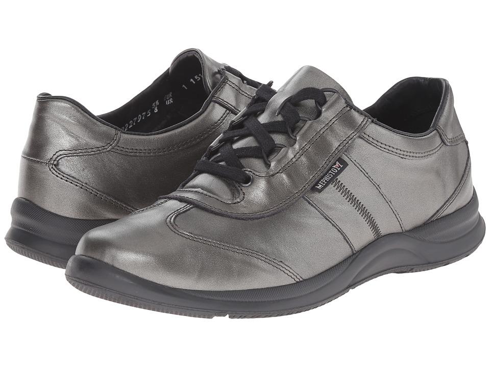 Mephisto Laser (Dark Grey Perl Calfskin) Women's Shoes
