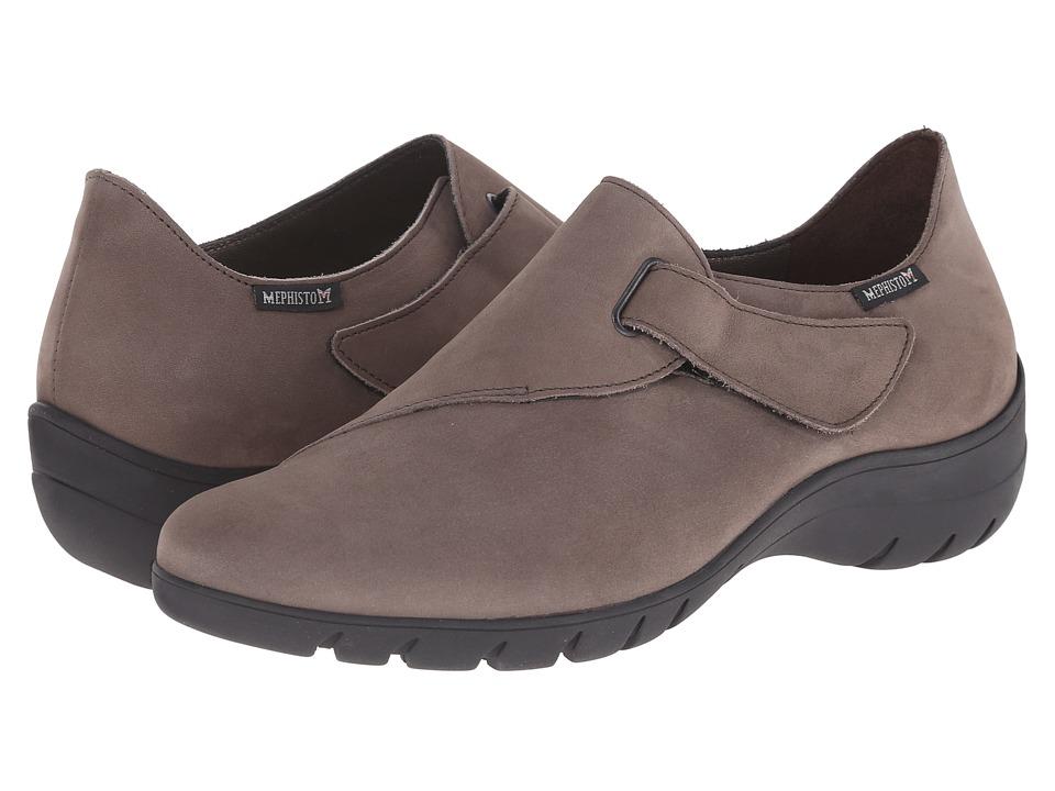 Mephisto - Luce (Pewter Bucksoft) Women's Shoes