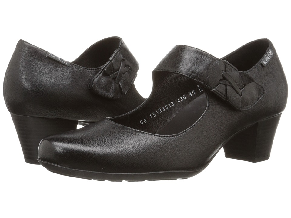 Mephisto Madisson (Black Nappa) High Heels
